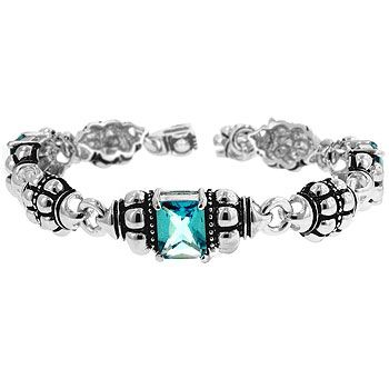 Aqua Ball Antique Bracelet