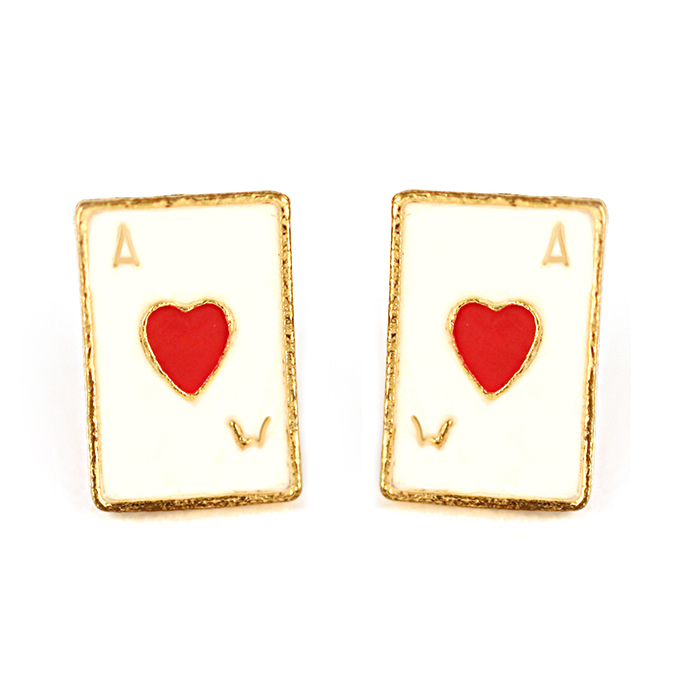 Beryl Card Earrings
