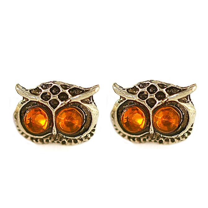 Cathryn Owl Earrings