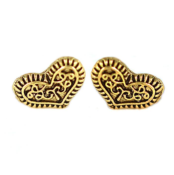 Carissa Heart Earrings