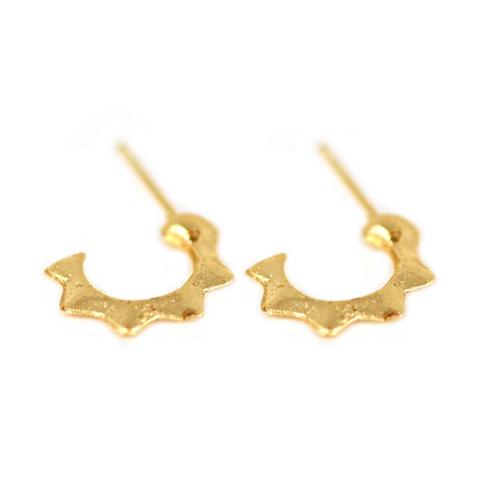 Bertie Horn Earrings