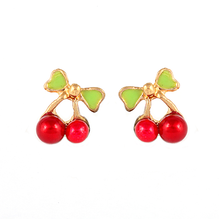 Angelique Cherry Earrings