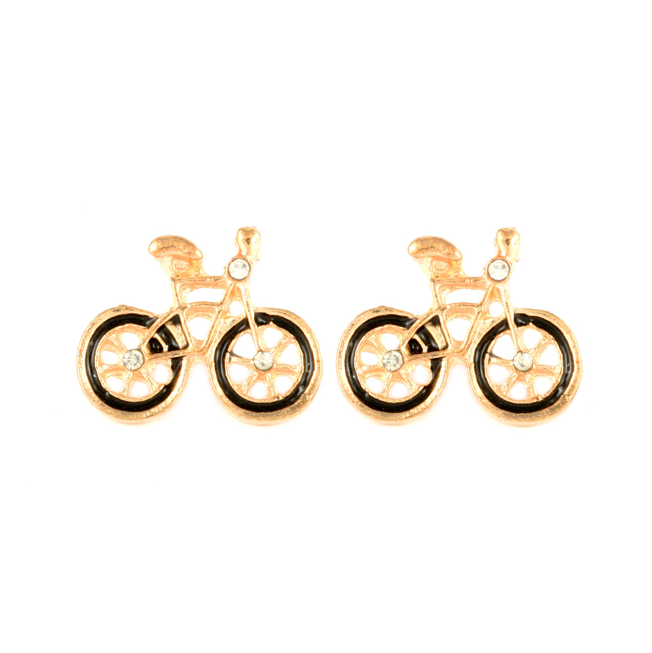 Vonda Bicycle Earrings