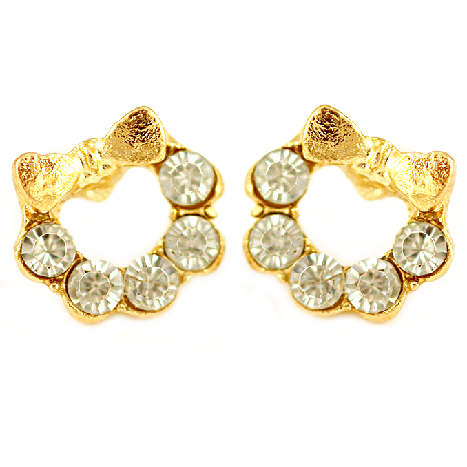 Celina Bow Earrings