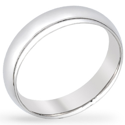5mm Stainless Wedding Band