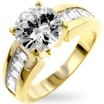 Antoinette Cake Engagement Ring
