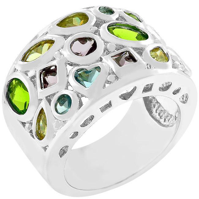 Bijoux Multi Colored Ring