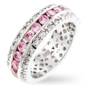 Blossom Eternity Pink Ring