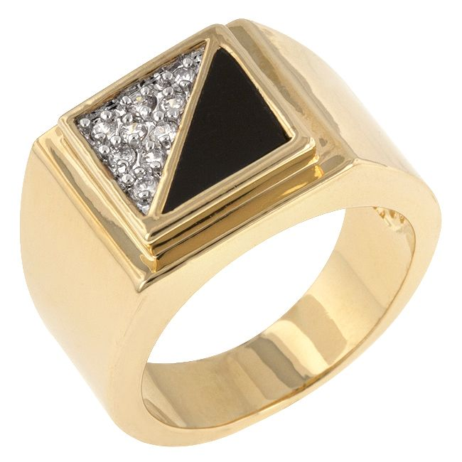 Gemini CZ Men Ring