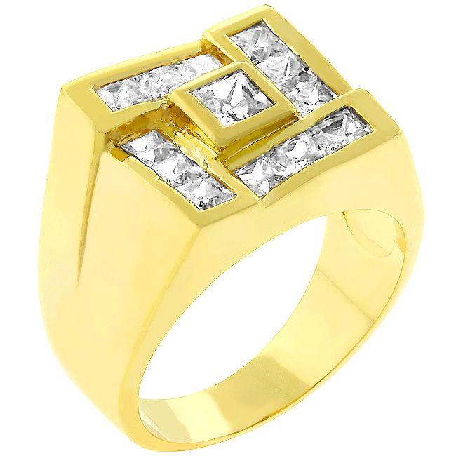 Men Pave Golden Ring